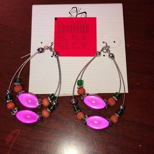 Vintage fashion bug earrings